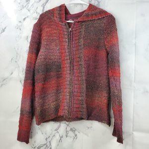 Prana Hoodie Full Zip Up Sweater